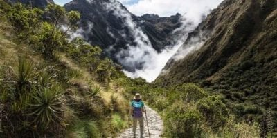 Inca trail hike to machu picchu